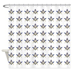 Masonic Shower Curtain