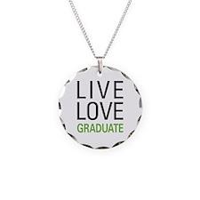 Live Love Graduate Necklace