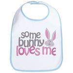Some Bunny Loves Me Bib