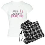 Some Bunny Loves Me Women's Light Pajamas