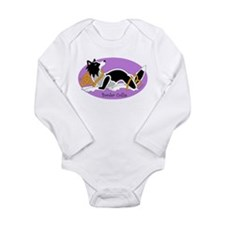 Funny Celtic dog Long Sleeve Infant Bodysuit