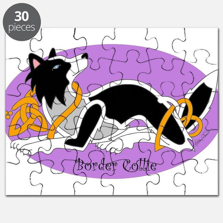 Cute Celtic dog Puzzle