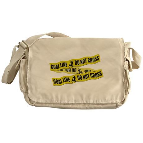 Lacrosse Crime Tape Messenger Bag