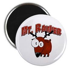 Mt. Rainier Elk Magnet