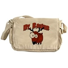 Mt. Rainier Elk Messenger Bag