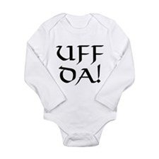 Uff Da! Long Sleeve Infant Bodysuit