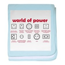 World of Power baby blanket