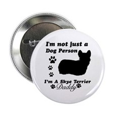 """Sky Terrier Daddy 2.25"""" Button (10 pack)"""