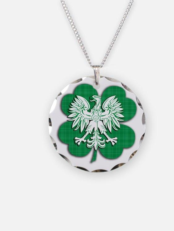 Irish Polish Heritage Necklace
