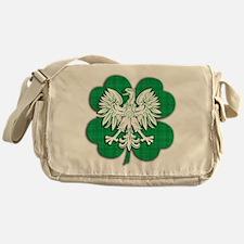 Irish Polish Heritage Messenger Bag