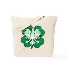 Irish Polish Heritage Tote Bag