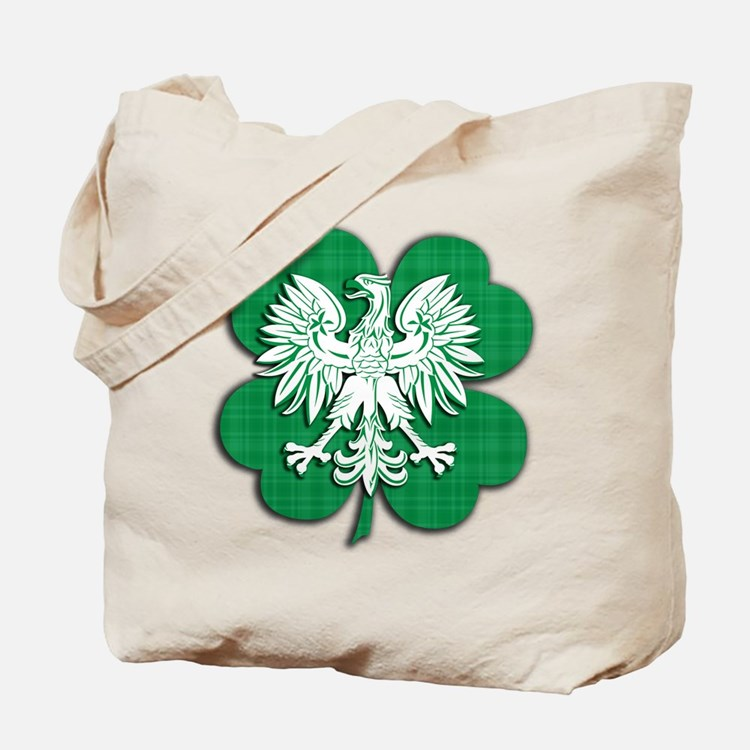 Irish Polish Heritage Tote Bag