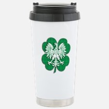 Irish Polish Heritage Travel Mug