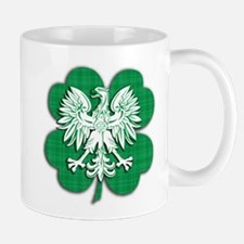 Irish Polish Heritage Mug