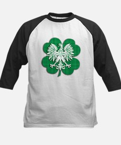 Irish Polish Heritage Kids Baseball Jersey