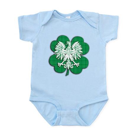 Irish Polish Heritage Infant Bodysuit