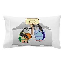 Penguin Basketball Pillow Case