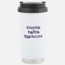 If I Had Balls Stainless Steel Travel Mug