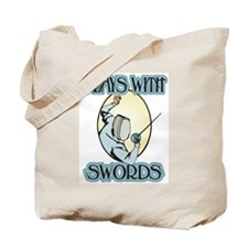 Plays with Swords Tote Bag