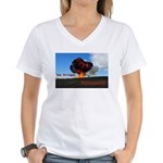 Boomershoot 2012 Women's V-Neck T-Shirt