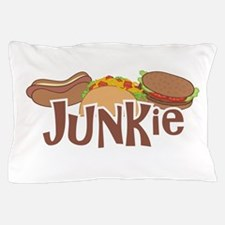 Fast Food Junkie Pillow Case