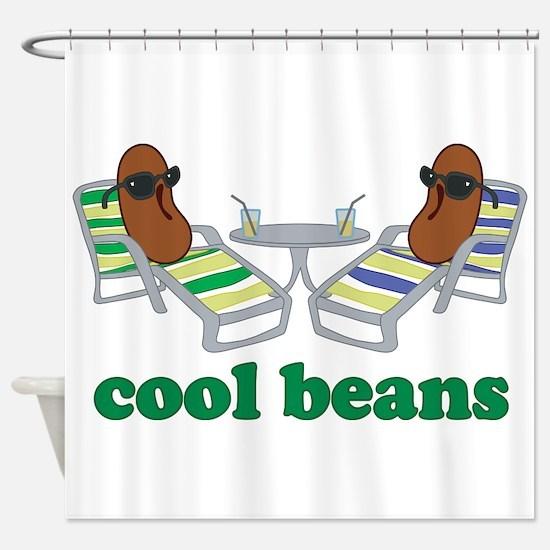 Cool Beans Shower Curtain