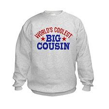World's Coolest Big Cousin Sweatshirt