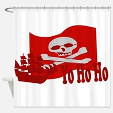 Yo Ho Ho Pirate Shower Curtain