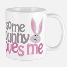 Some Bunny Loves Me Small Small Mug