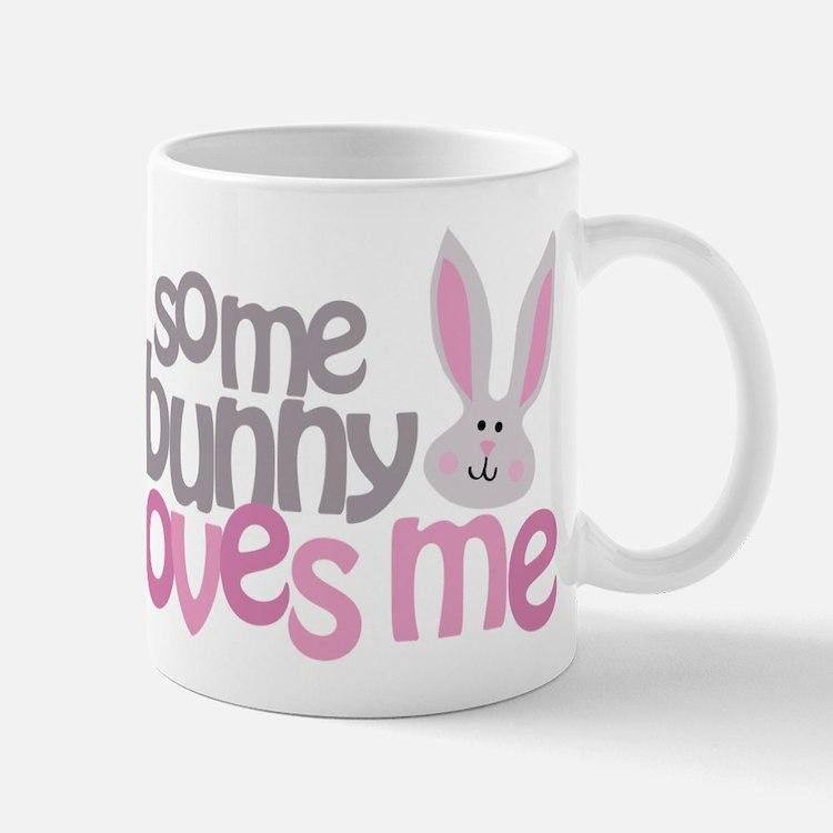 Some Bunny Loves Me Small Small Mug