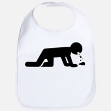 Alcohol puke drunk Bib