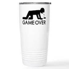 Alcohol puke Travel Coffee Mug