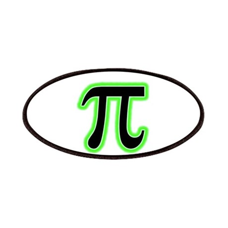 Green Glowing Pi Patches