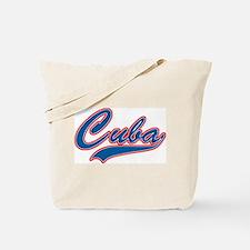Retro Cuba Tote Bag
