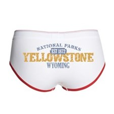 Yellowstone National Park WY Women's Boy Brief