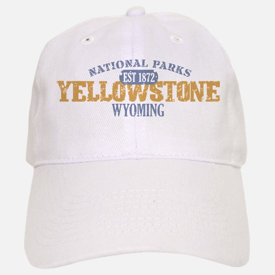 Yellowstone National Park WY Baseball Baseball Cap