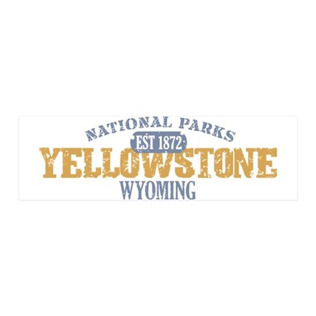 Yellowstone National Park WY 42x14 Wall Peel
