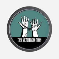 Hands Are For Wall Clock
