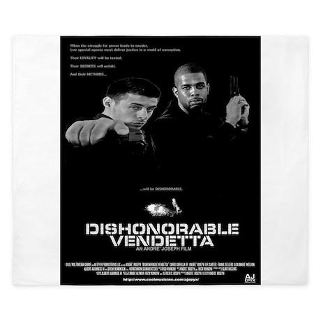 Dishonorable Vendetta King Duvet