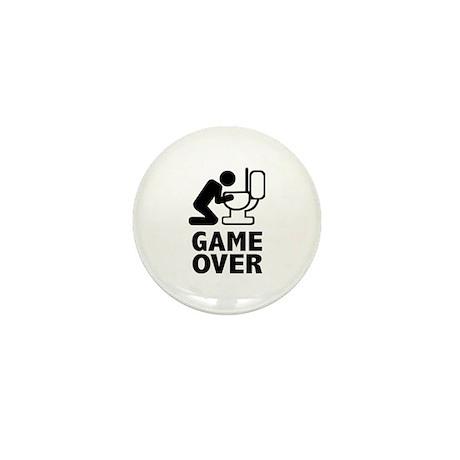 Alcohol puke toilet Mini Button (100 pack)