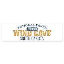 Wind Cave Park South Dakota Bumper Sticker