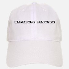 Database Manager Baseball Baseball Cap