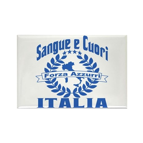 Forza Azzurri Rectangle Magnet (100 pack)