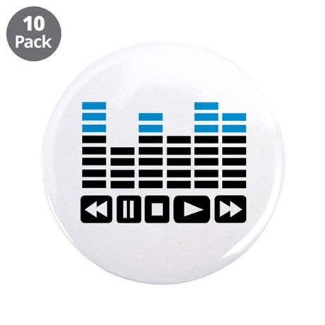 """Equalizer 3.5"""" Button (10 pack)"""