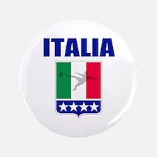 """Forza Azzurri 3.5"""" Button (100 pack)"""