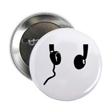 "Headphones 2.25"" Button (100 pack)"