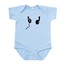 Headphones Infant Bodysuit