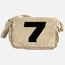 JS7blk Messenger Bag