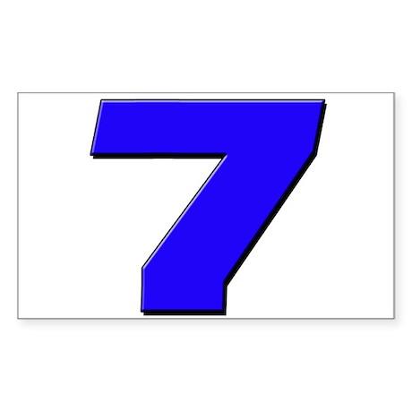 JS7blue Sticker (Rectangle 10 pk)
