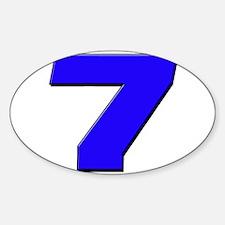 JS7blue Decal